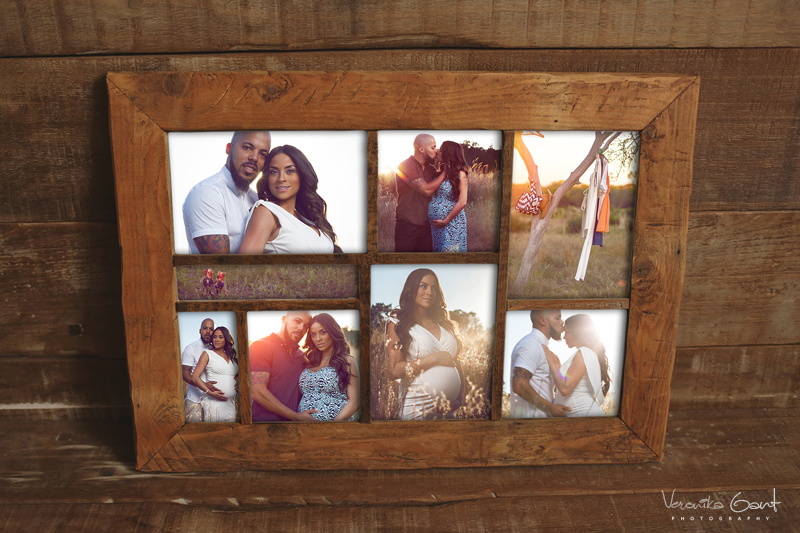 Photoblock-Framed-Collage-_stained-wood